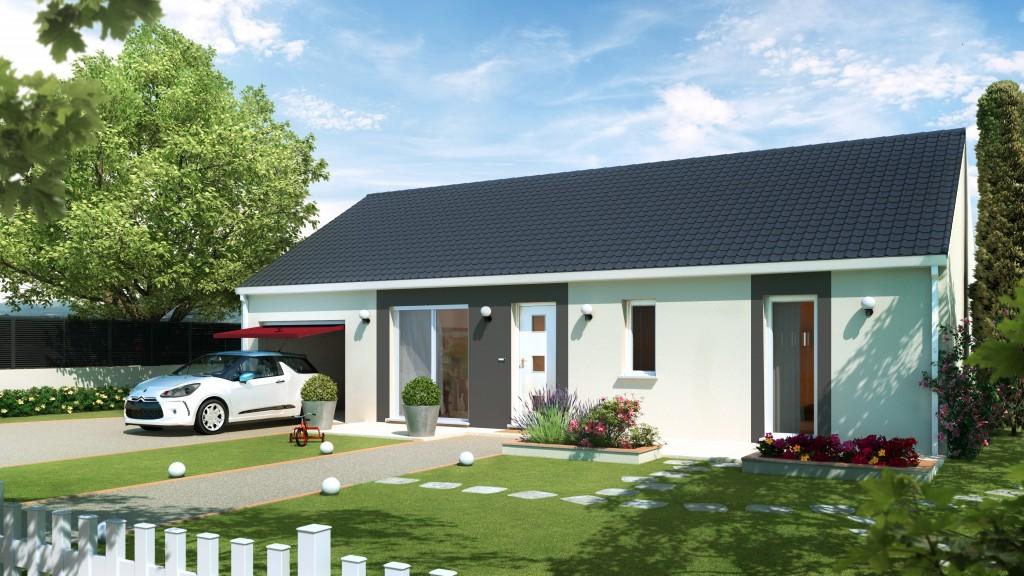 Maison focus 80 modele low cost 100 bbc rt2012 for Constructeur de maison individuelle low cost