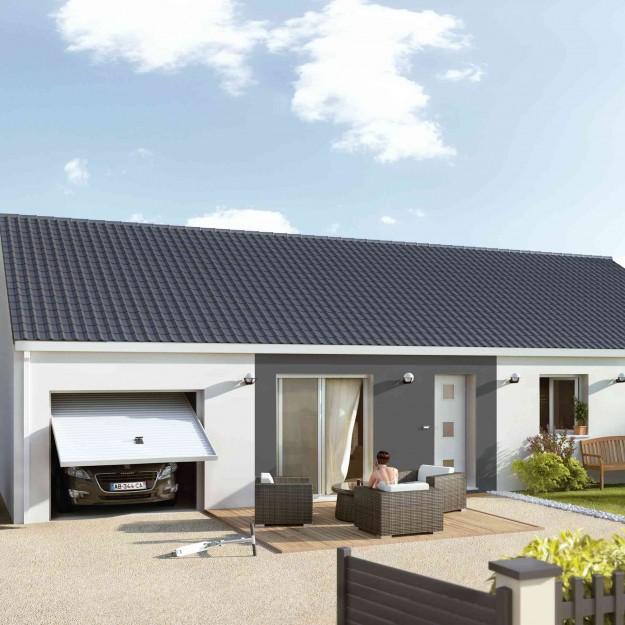 Maison petit prix plans et mod les de maisons for Prix maison 4 chambres