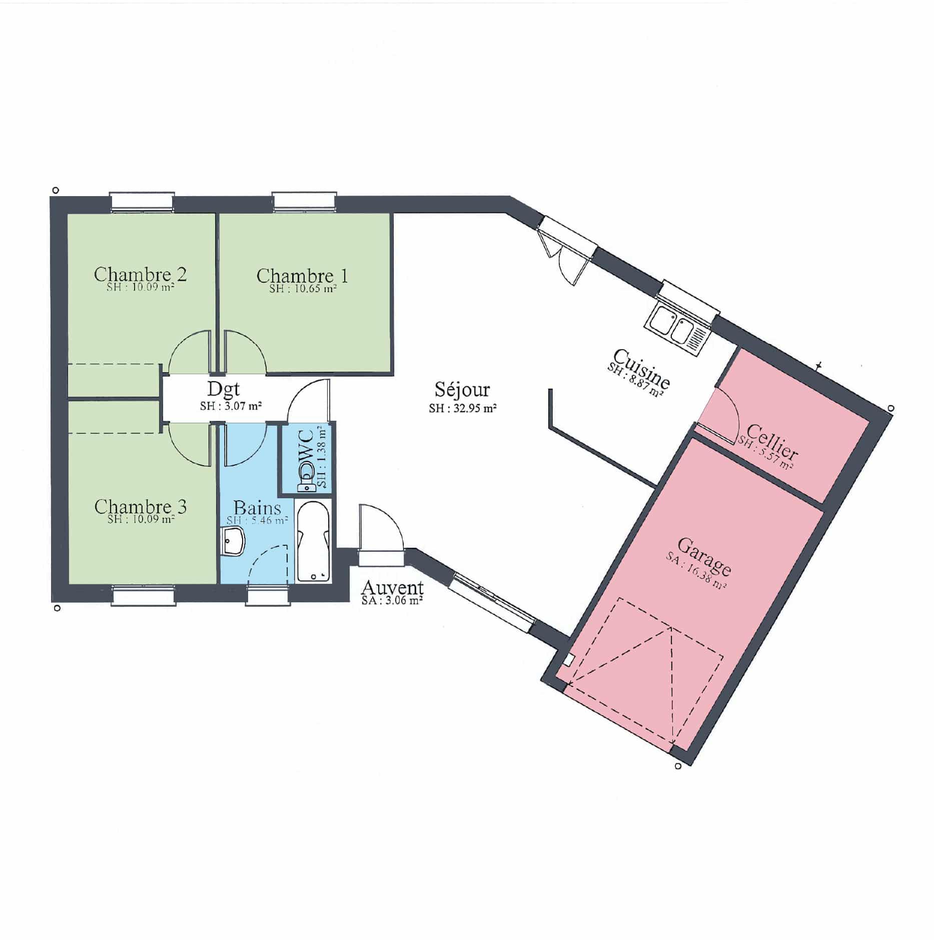 Maison design pas cher 96 en v - Deco maison design pas cher ...