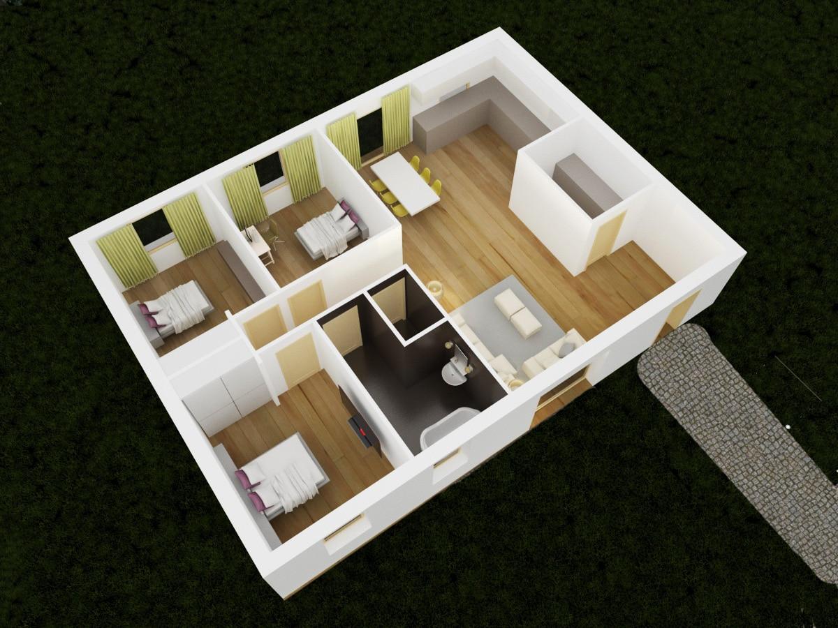 Maison design 86 tout petit prix for Homecourt code postal