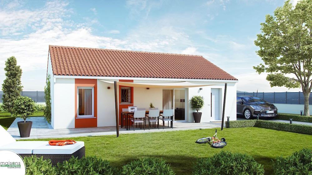 Maison design 86 tout petit prix for Modele architecture maison