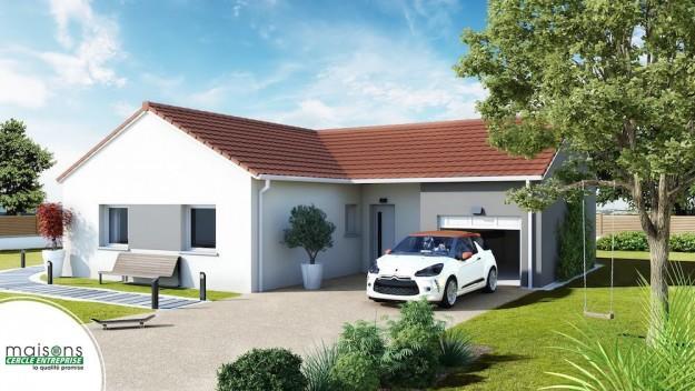 Plain pied archives construire sa maison pas cher constructeur low cost de qualit - Maison design pas cher ...