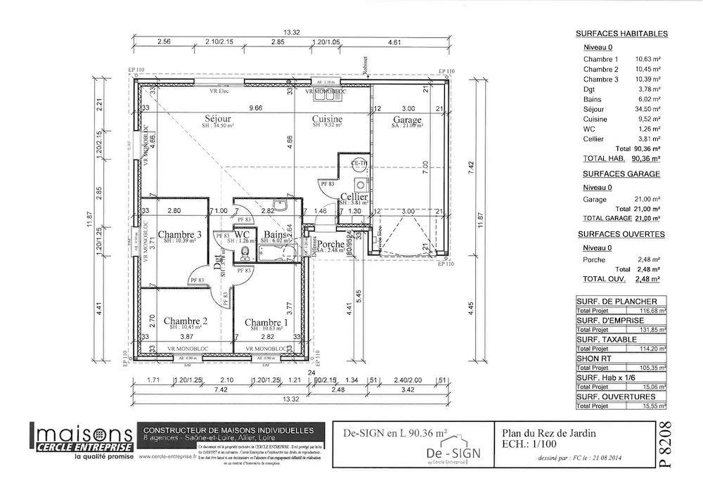 Maison design 90 en l discount - Maison modulaire pas cher ...