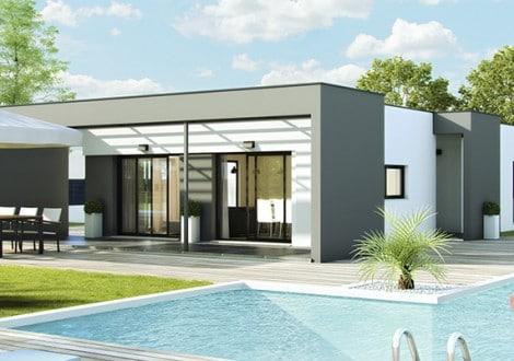 nouvelle gamme contemporaine construire sa maison pas cher constructeur low cost de qualit. Black Bedroom Furniture Sets. Home Design Ideas
