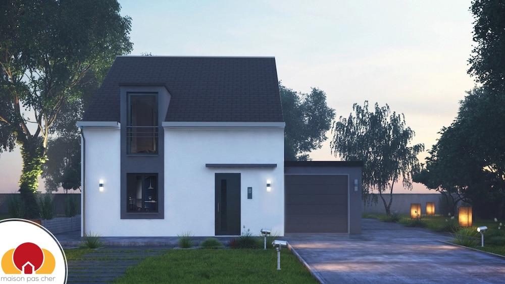 city60 maisons concept avec tuiles ardoise