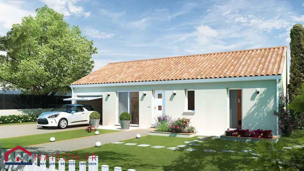 maison discount plan 3D 80m2