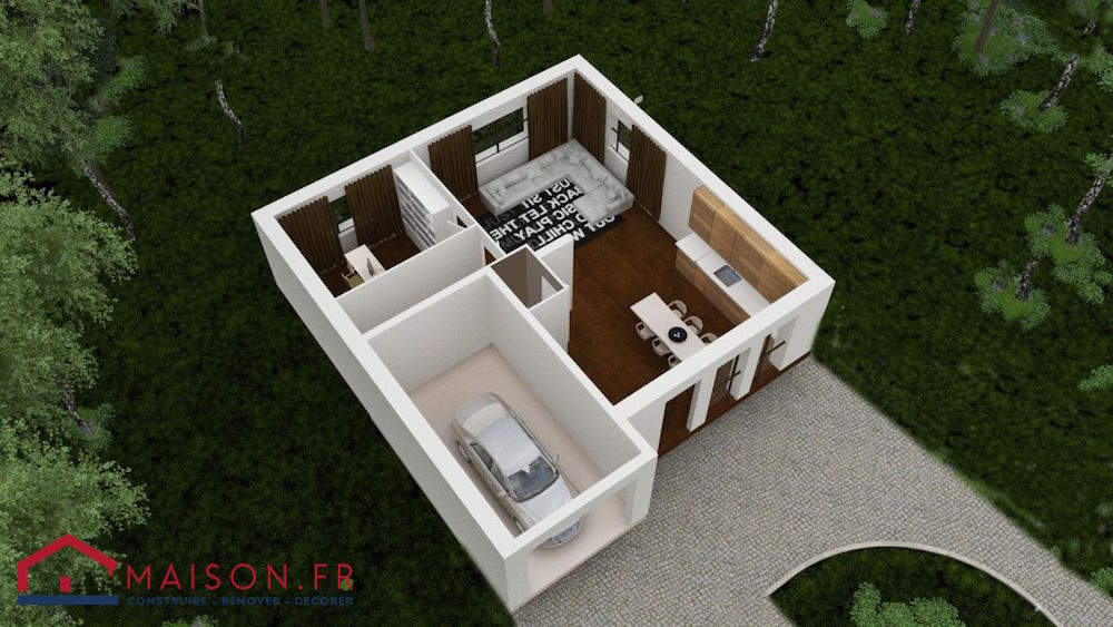 Maison focus 85 modele low cost tage 100 bbc rt2012 for Code postal homecourt