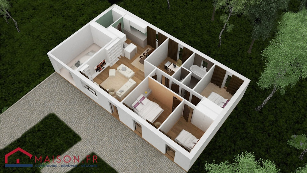 3 bedroom container home plans pdf trend home design and - Agrandissement maison pas cher ...