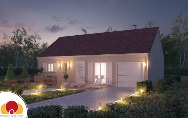 plain pied archives construire sa maison pas cher. Black Bedroom Furniture Sets. Home Design Ideas