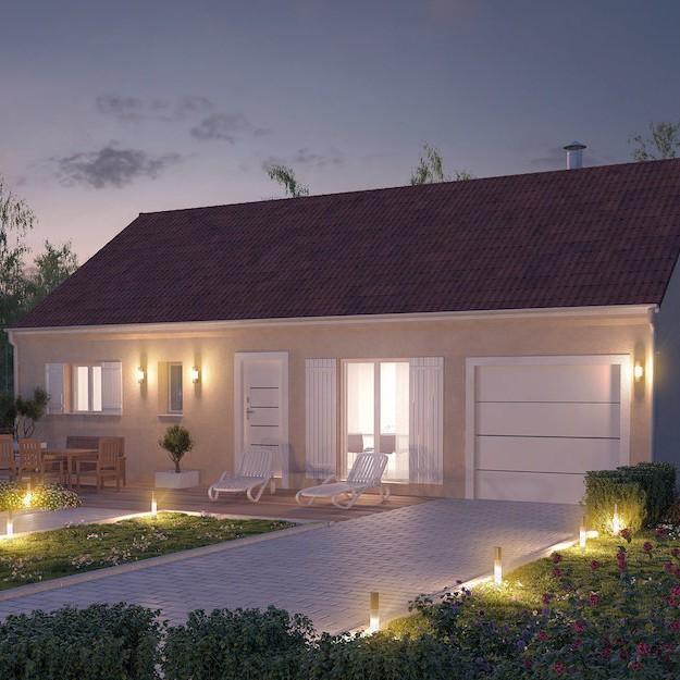 Maison petit prix plans et mod les de maisons for Maison individuelle pas cher