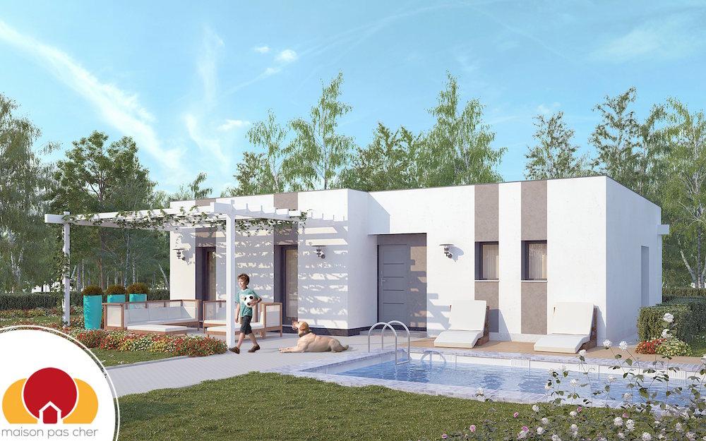 Modles de maisons with maison a batir pas cher for Construire pas cher