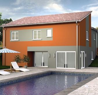 gamme inovea maisons contemporaines basse consommation construire sa maison pas cher. Black Bedroom Furniture Sets. Home Design Ideas