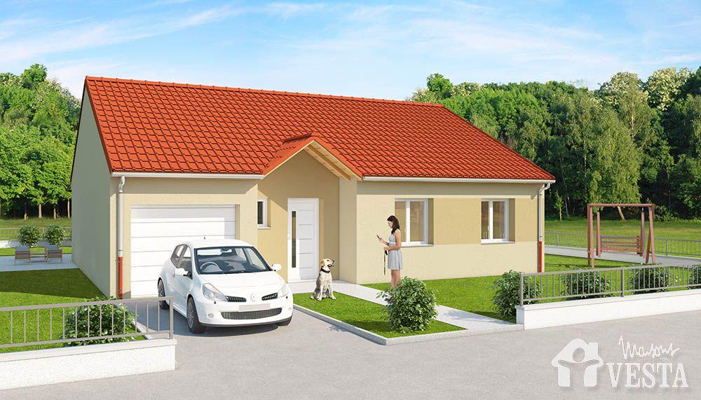 Maison louisiane avec porche for Trouver des plans de construction