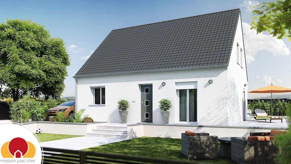 Plan maison contemporaine - Maison les moins cher ...