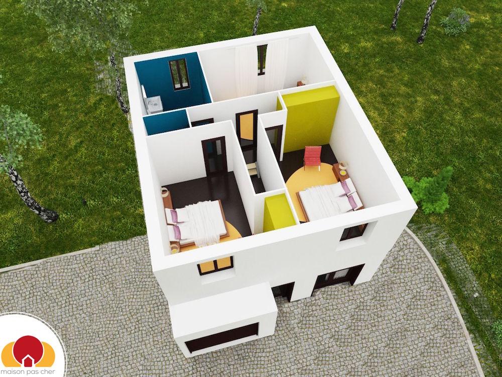 Maison de ville 3 chambres for Prix m2 maison rt 2012