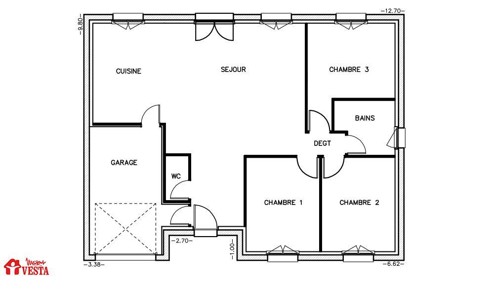 Maison louisiane avec porche for Homecourt code postal