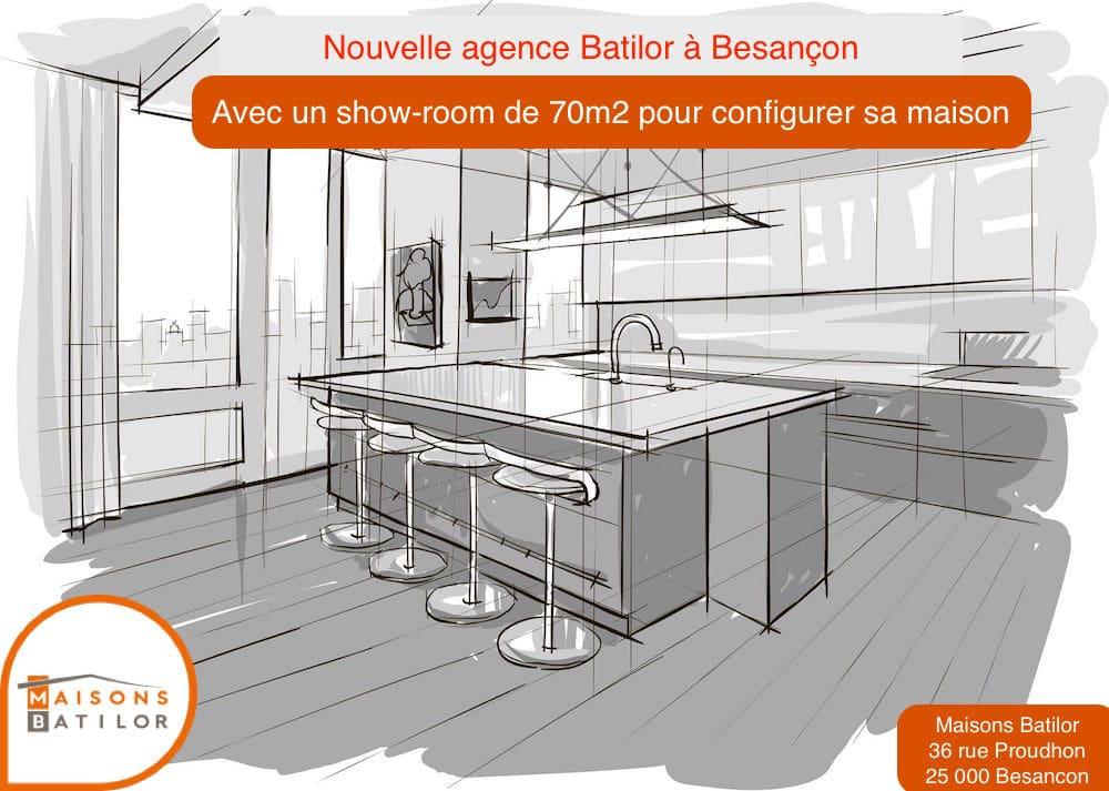 Nouvelle agence commerciale besancon 25 construire sa for Constructeur de maison besancon