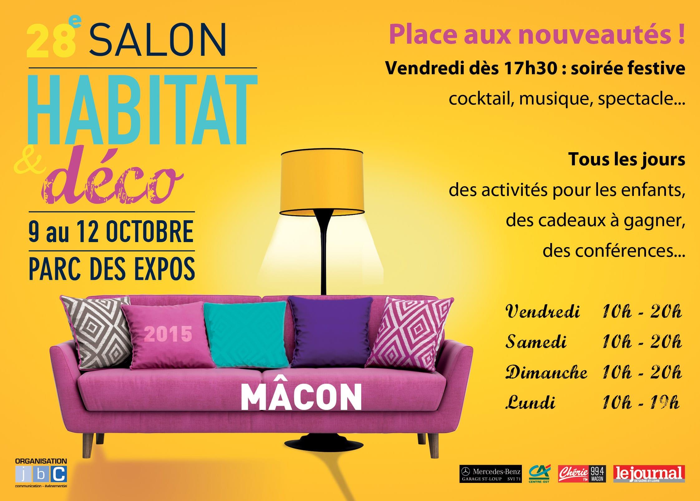 Pub Salon Habitat et Déco Mâcon 2015