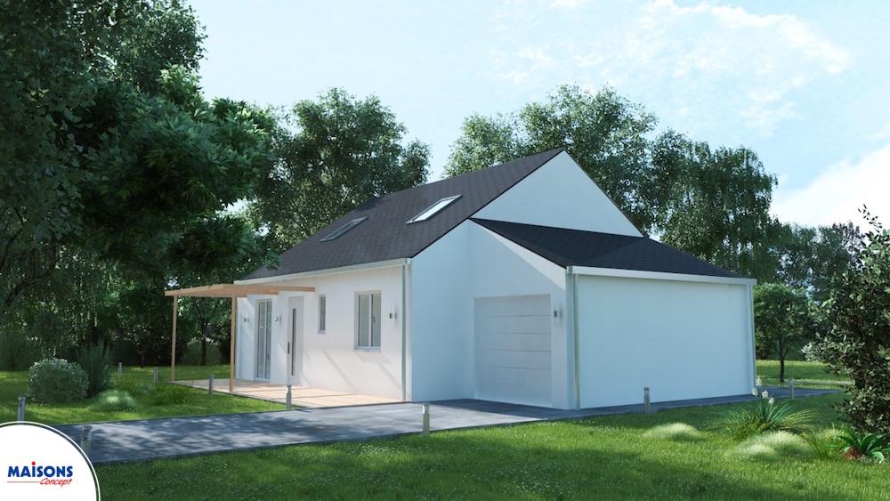 Maisons familiale affordable saint aignan grandlieu vente for Maison familiale toulouse