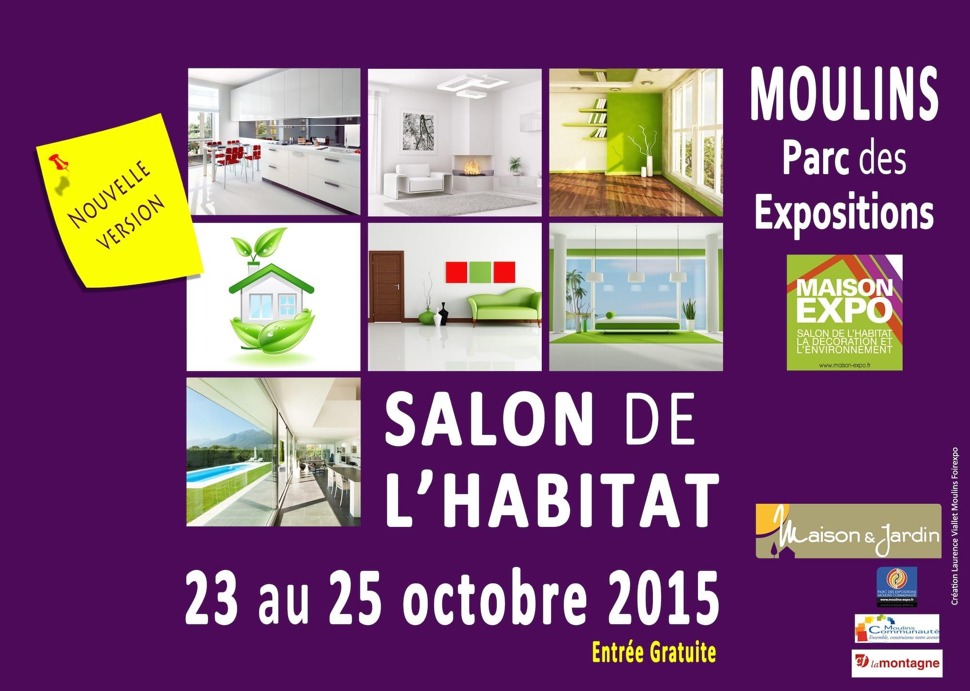Salon de l'habitat de Moulins 2015