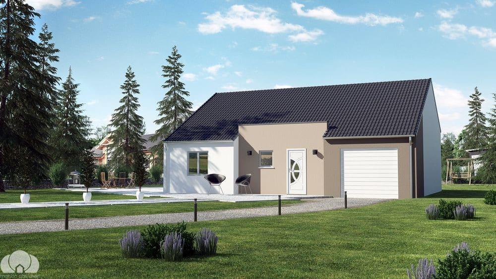 Maisons de Plain pied - nos modèles de maisons pas chères