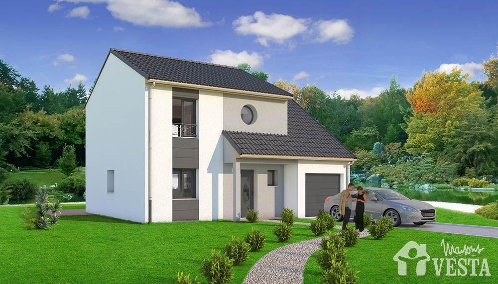 Marquise maison chic construire for Maison constructeur pas cher