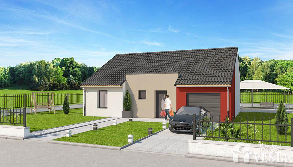 Robinson maison moderne for Maison contemporaine pas cher