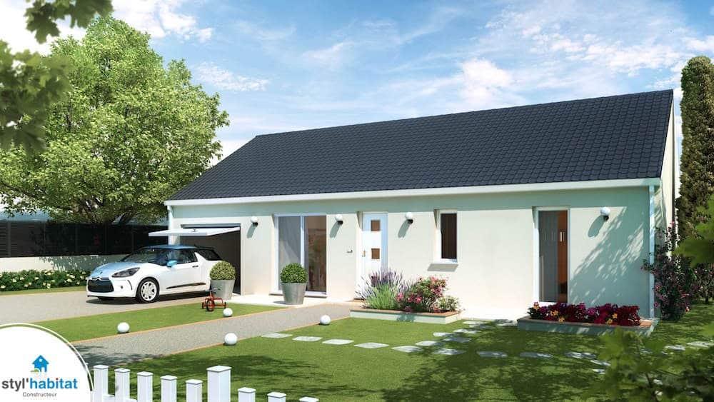 Nouvelle gamme de maisons petit prix construire sa for Maison de constructeur prix