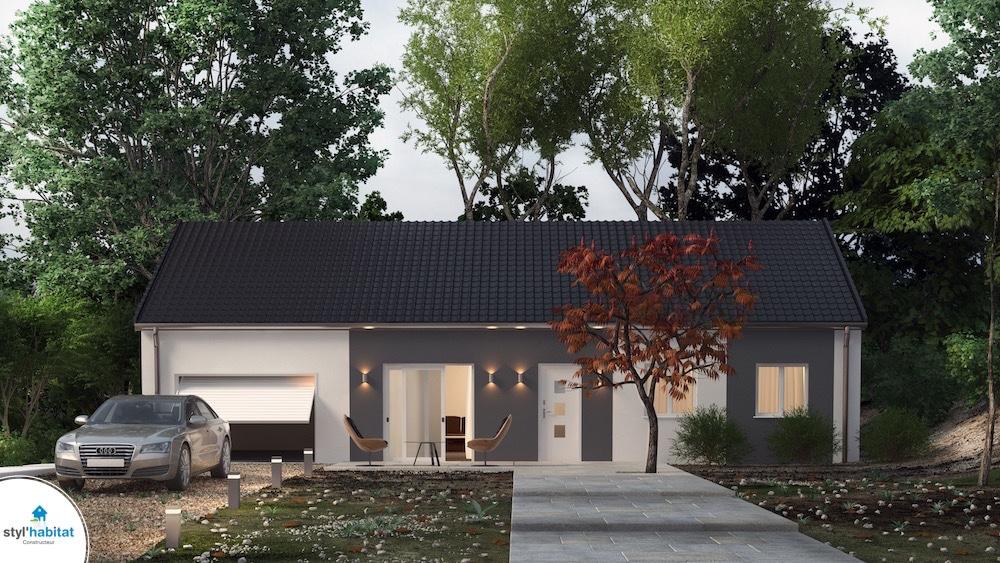nouvelle gamme de maisons petit prix construire sa maison pas cher constructeur low cost de. Black Bedroom Furniture Sets. Home Design Ideas
