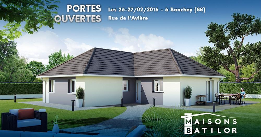 Portes ouvertes sanchey 88 26 27 f vrier 2016 for Porte ouverte constructeur