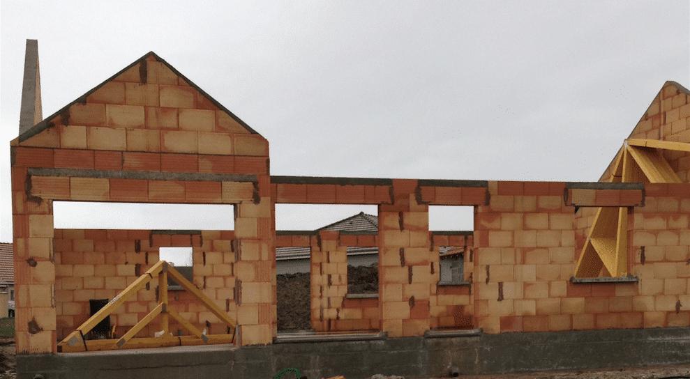 Avermes (03) un chantier en cours Construire sa maison pas cher ...