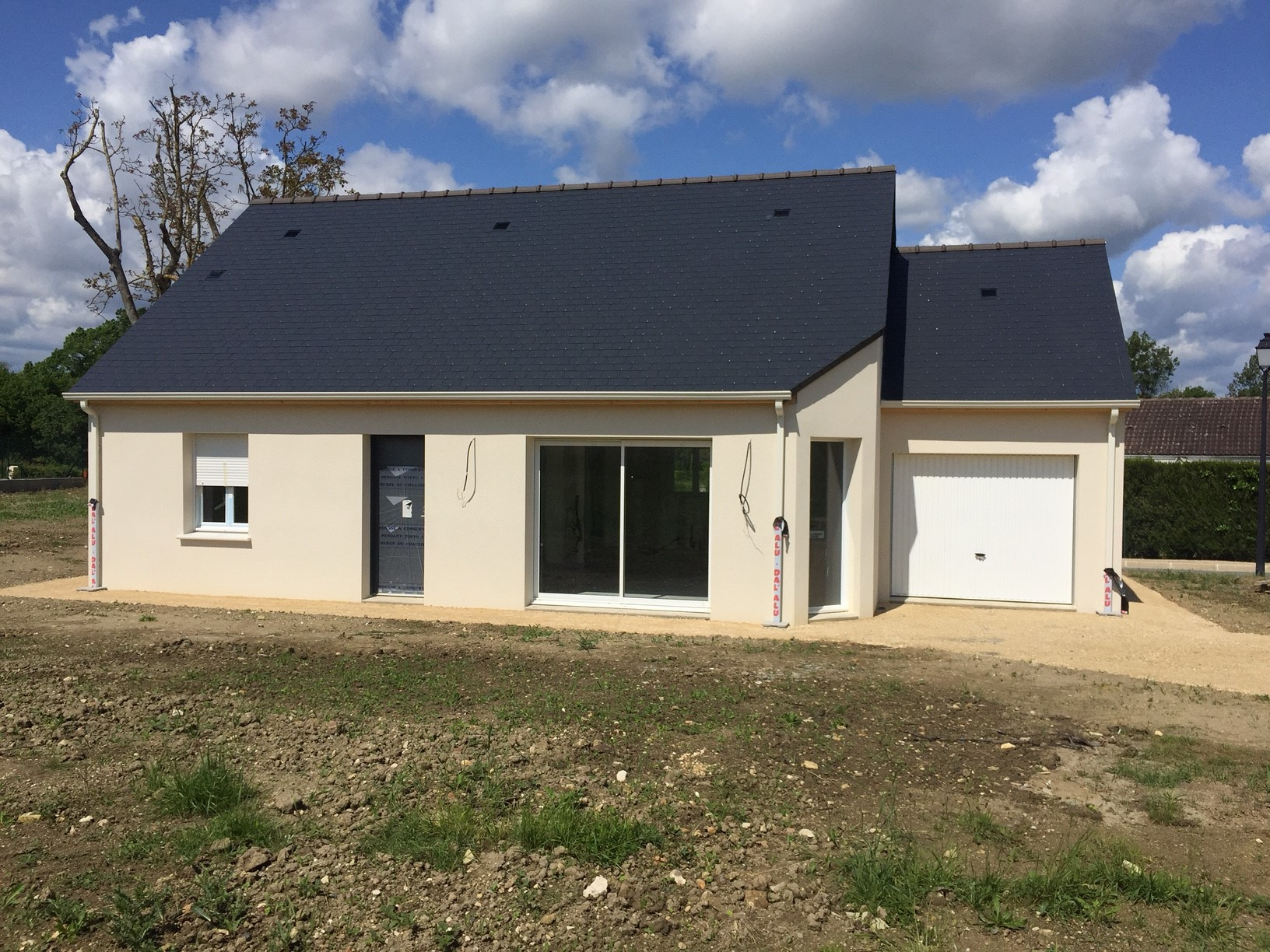 Nouvelle construction thizay 37500 construire sa maison for Maison en construction