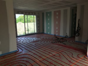 Maison Chinon plancher chauffant 3