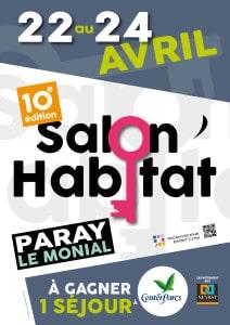 Affiche A3 Salon Habitat 2016