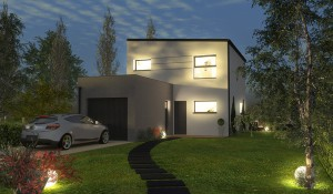 Maison contemporaine à étage excellent rapport qualité prix Charente Maritime
