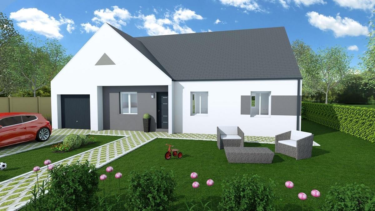 Sp cial investisseur montreuil bellay 49260 construire sa for Maison constructeur pas cher