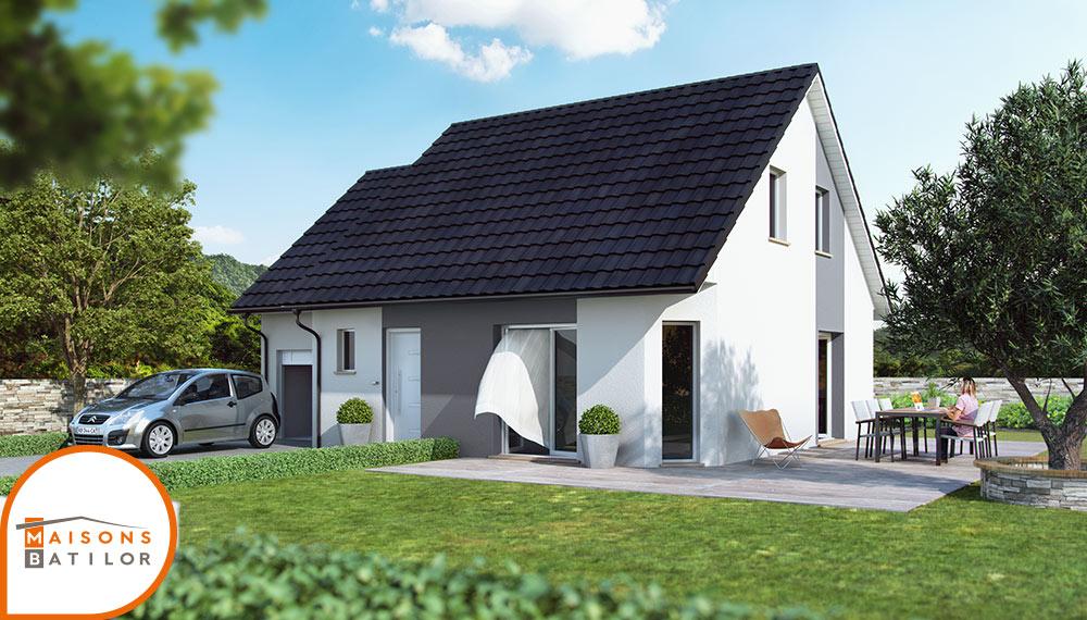 Portes ouvertes d couvrez une maison construite burnhaupt le bas 68 construire sa maison - Maison les moins cher ...