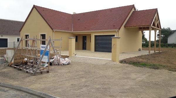 maisons en cours de construction loir et cher construire sa maison pas cher constructeur low. Black Bedroom Furniture Sets. Home Design Ideas