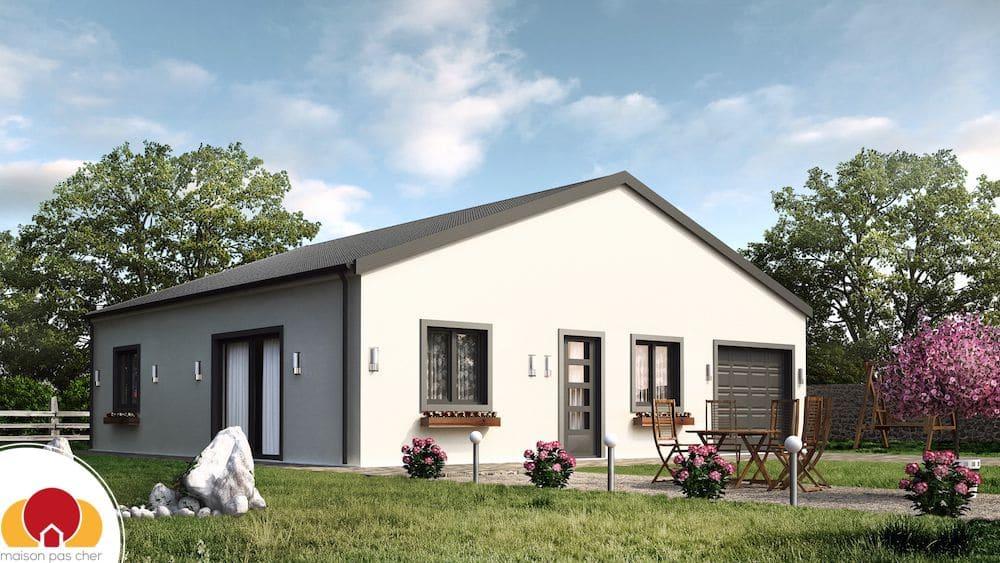 Maison louisiane avec porche - Combien de brique pour une maison ...