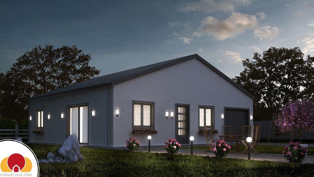 tulipe mod le de maison pas cher. Black Bedroom Furniture Sets. Home Design Ideas