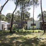 maison contemporaine sur la palmyre