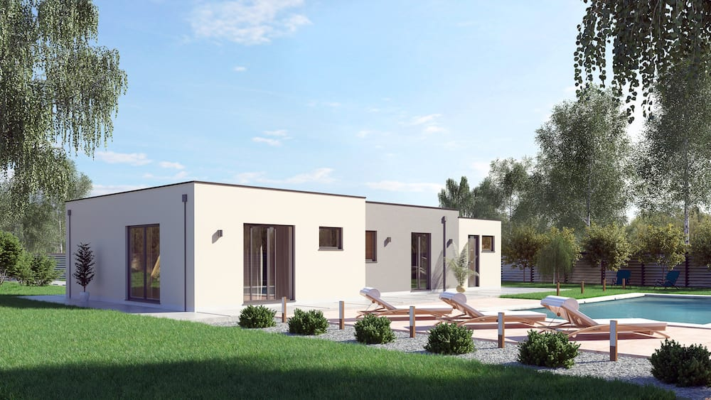 Maison design pas cher 96 en v - Prix maison moderne ...